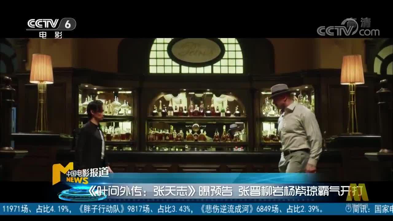 [视频]《叶问外传:张天志》曝预告 张晋柳岩杨紫琼霸气开打