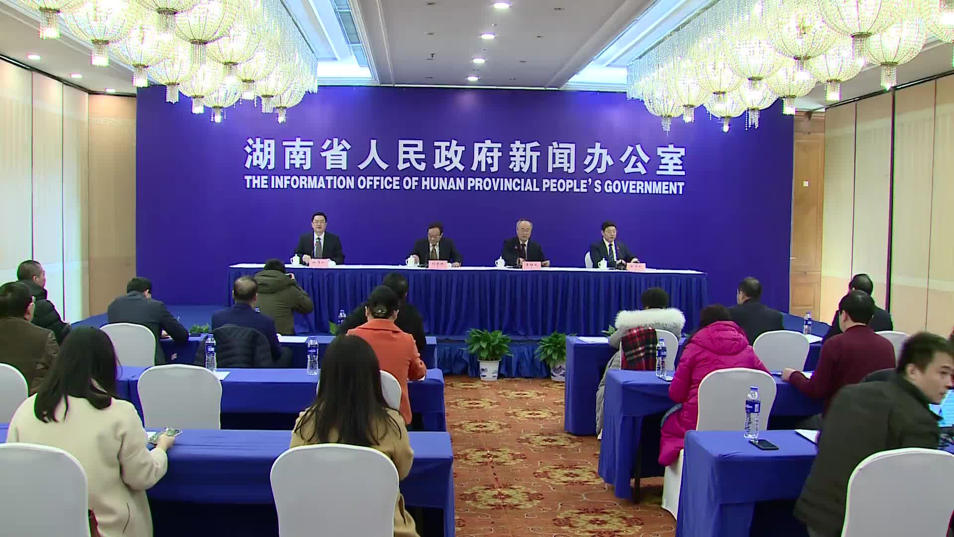 【全程回放】2018年度湖南省经济和社会发展情况新闻发布会