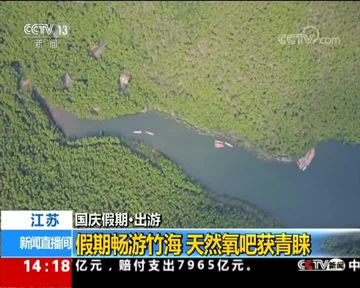 [视频]国庆假期·出游 江苏 假期畅游竹海 天然氧吧获青睐
