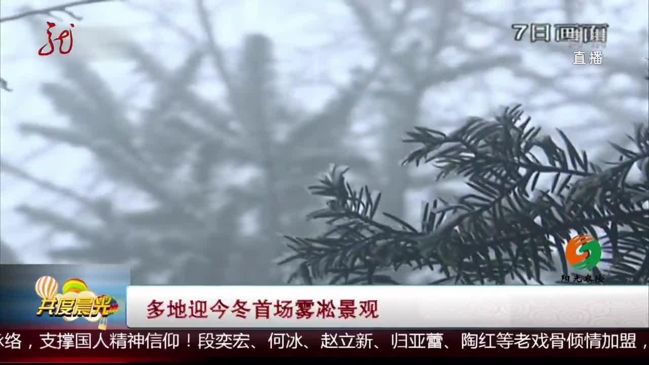 [视频]多地迎今冬首场雾凇景观