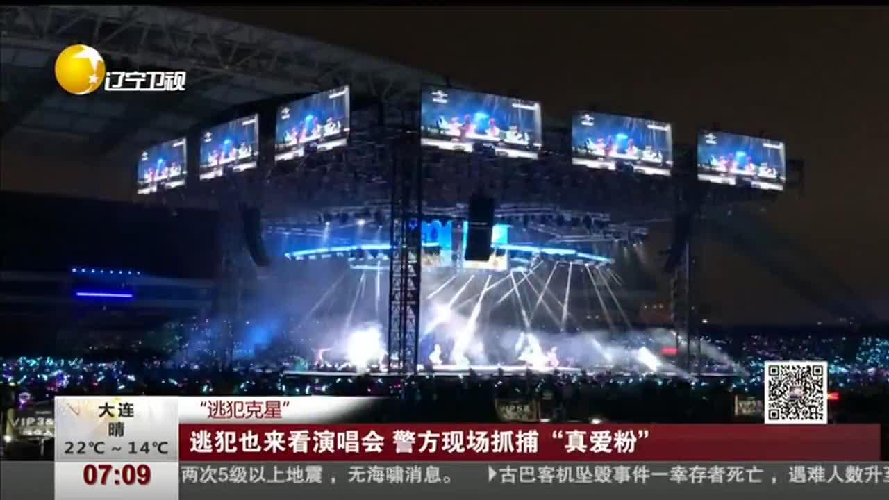 """[视频]""""逃犯克星"""" 逃犯也来看演唱会 警方现场抓捕""""真爱粉"""""""