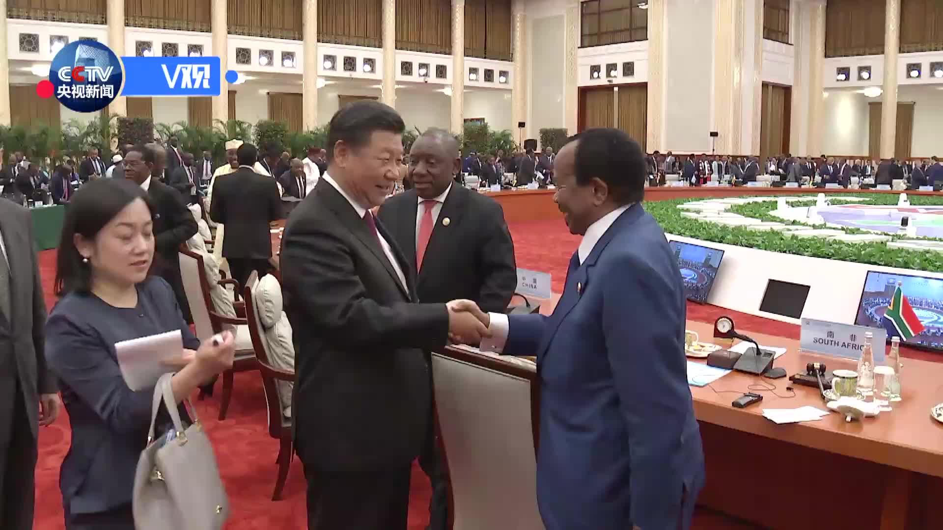 [视频]非洲国家领导人:我们和中国站在一起