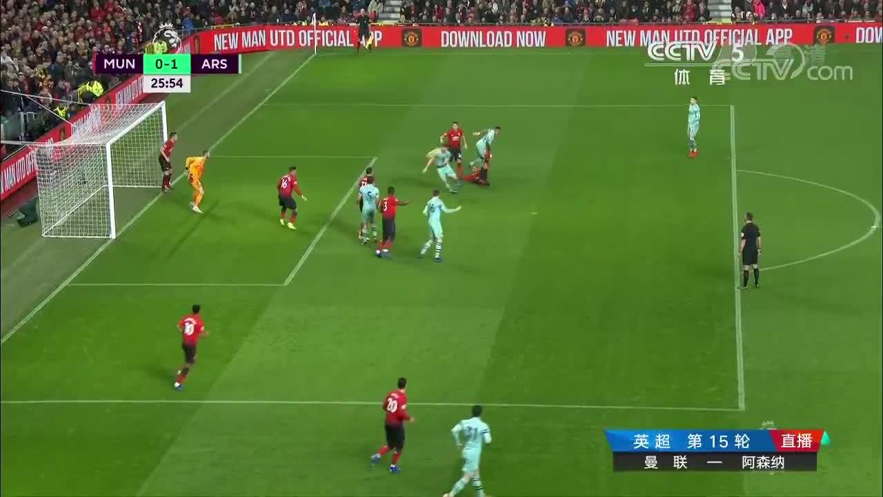 [视频]英超:曼联2-2逼平阿森纳 德赫亚黄油手送礼