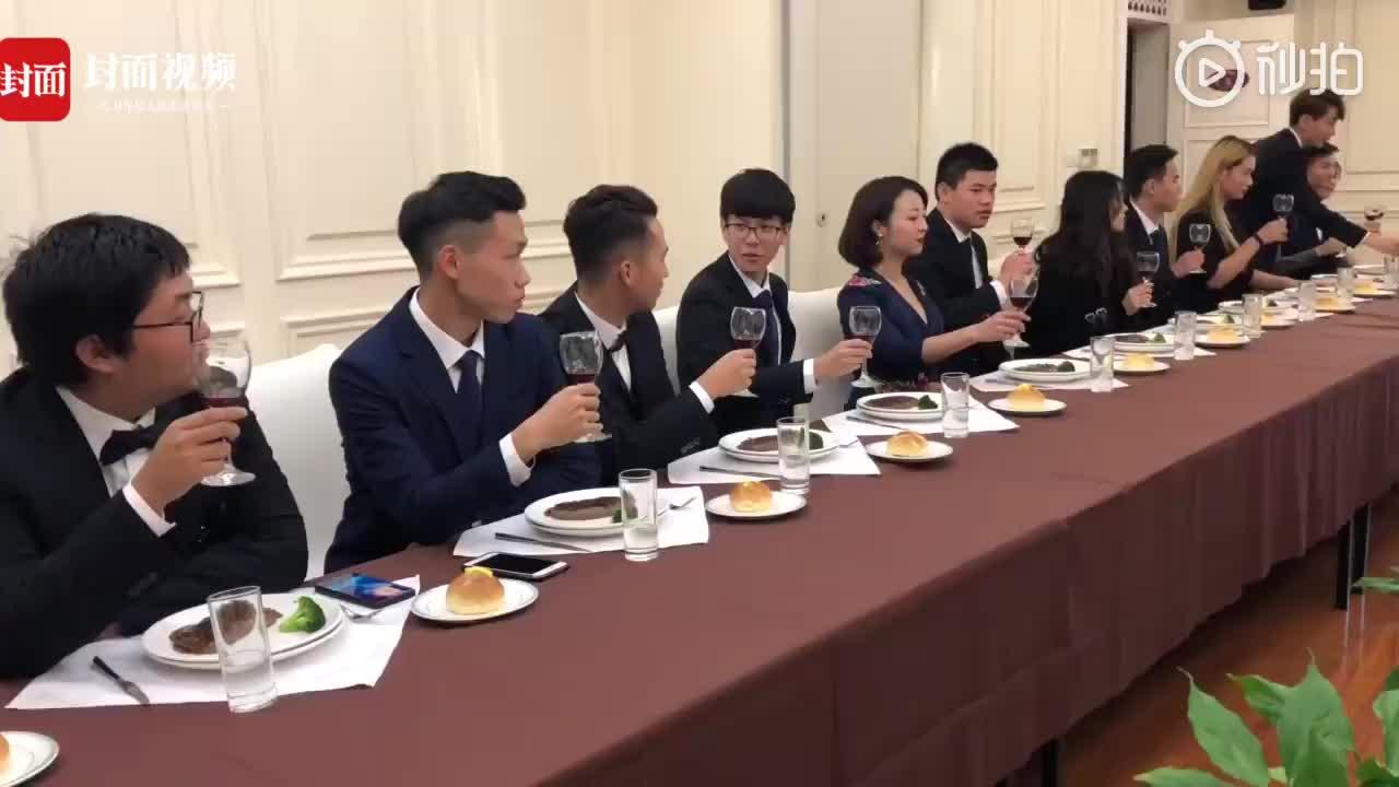 [视频]高校开西餐礼仪课 学生:终于能光明正大上课吃东西