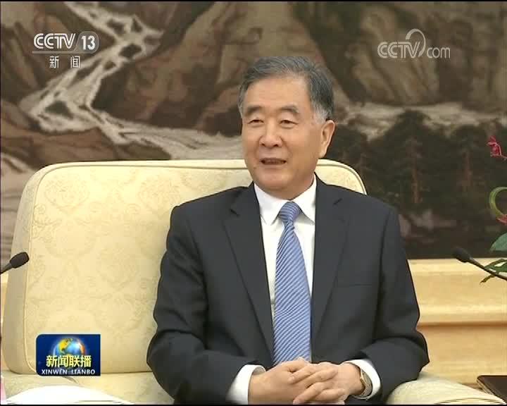 [视频]汪洋会见港区省级政协委员联谊会访京团