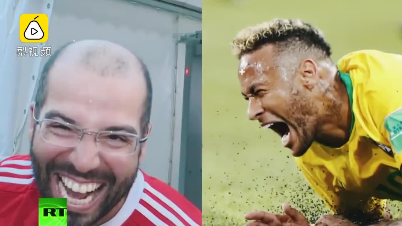 [视频]全球恶搞!球迷模仿内马尔大赛来了