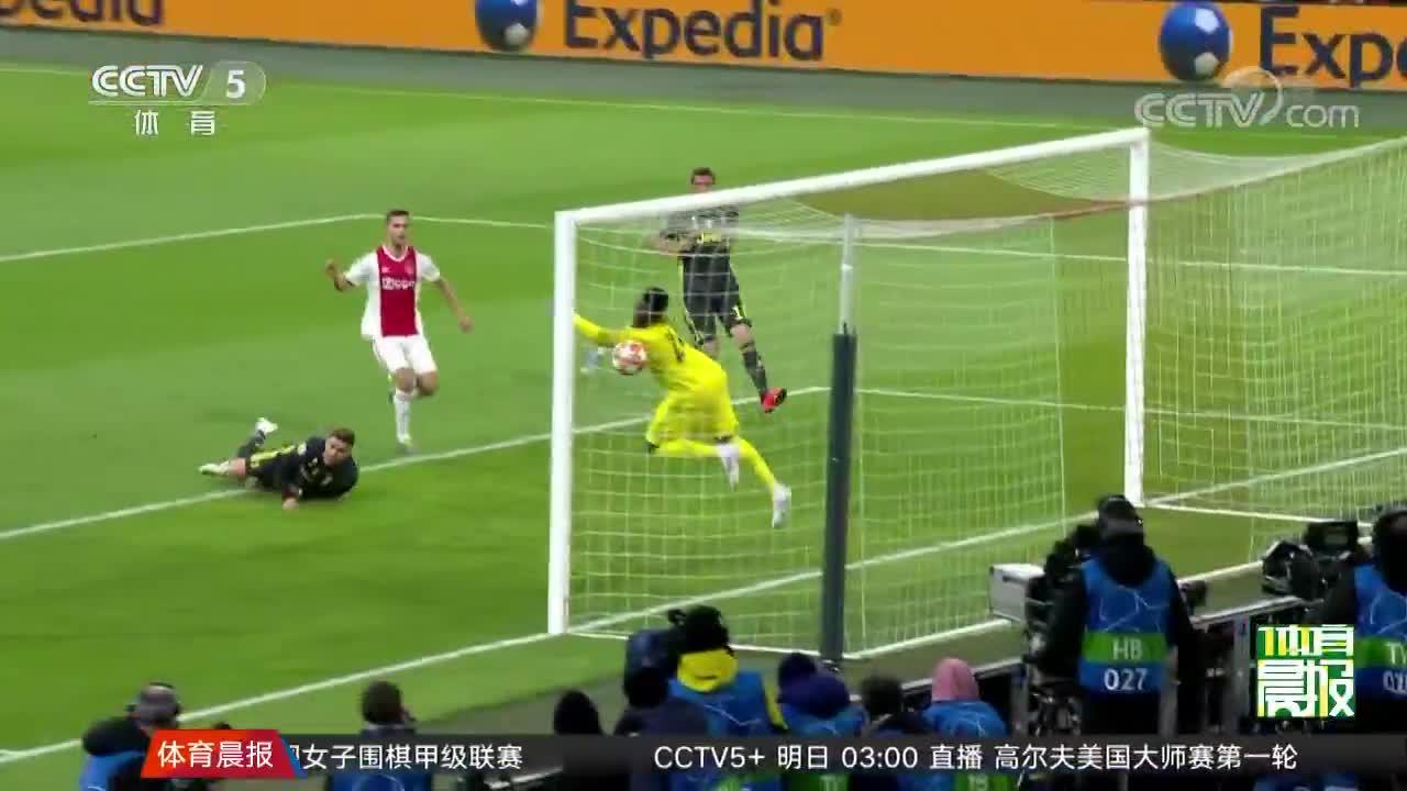 [视频]欧冠:C罗复出进球 尤文图斯客场战平阿贾克斯