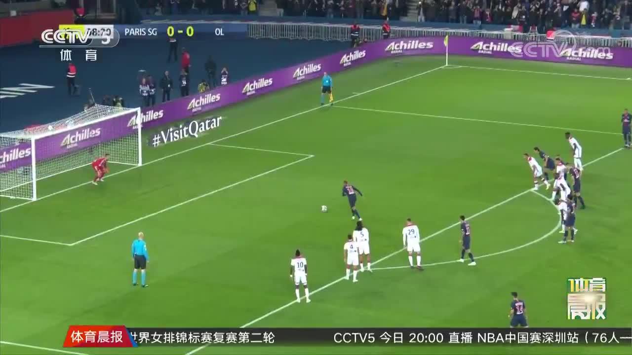 [视频]法甲:巴黎5-0里昂9连胜创纪录 姆巴佩13分钟大四喜