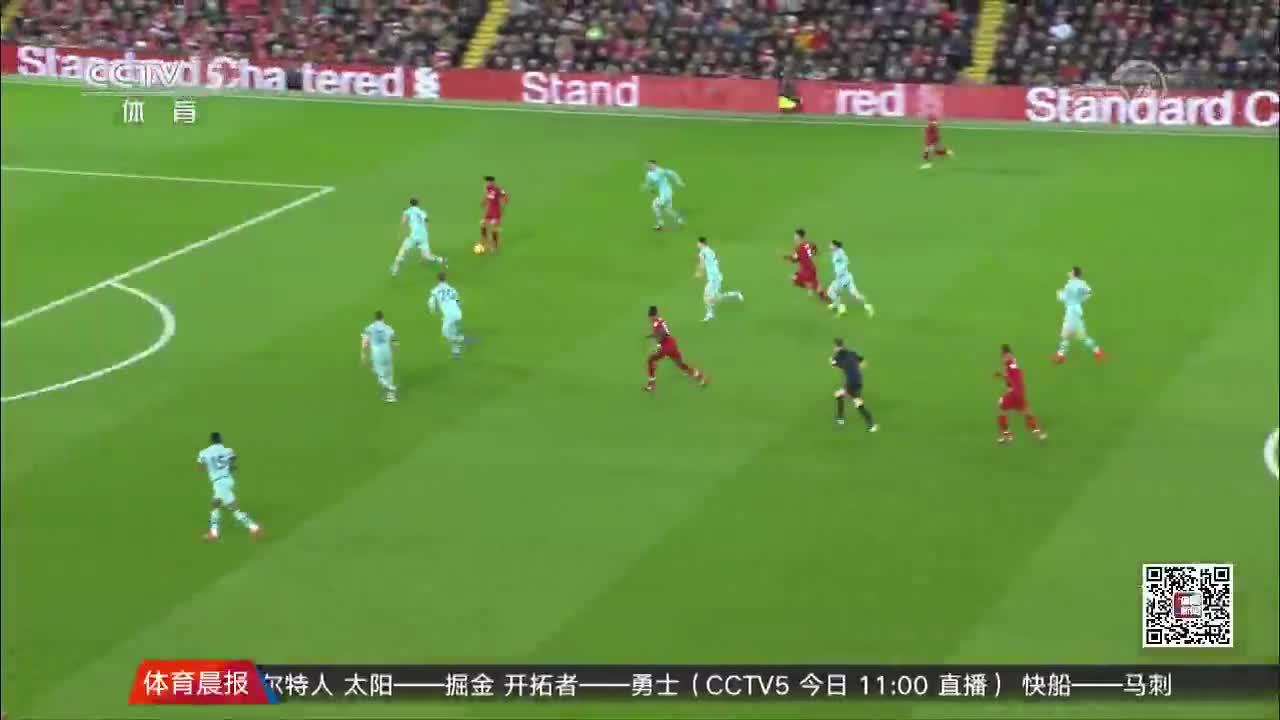 [视频]英超:利物浦5-1大胜阿森纳 菲尔米诺戴帽