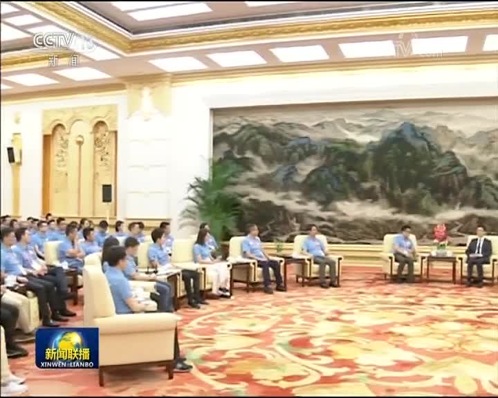 [视频]韩正与香港各界青年代表座谈