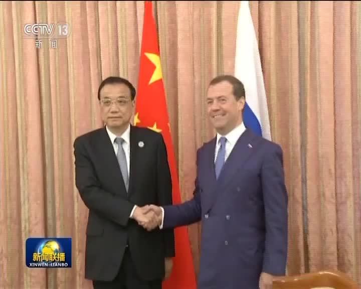 [视频]李克强会见俄罗斯总理