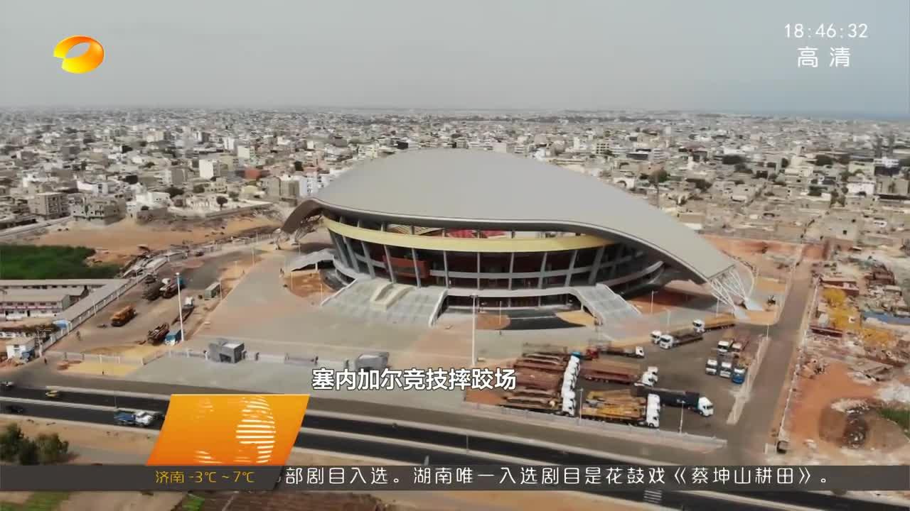 """塞内加尔政府授予湖南企业家""""国家雄狮勋位团骑士勋章"""""""