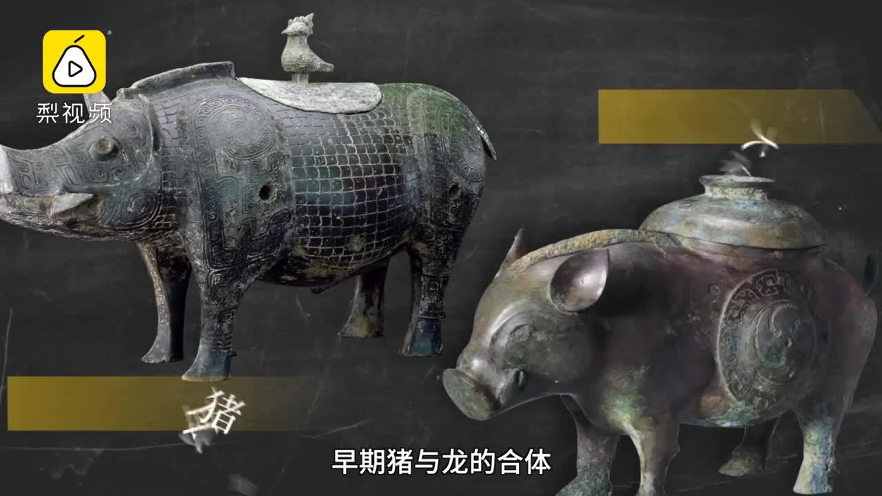 [视频]颠覆认知的猪民俗:最早的龙是猪头