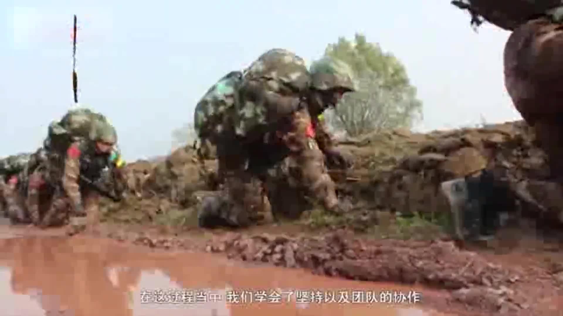 [视频]不输男兵 特战女兵挑战极限