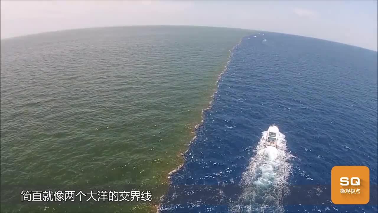 """[视频]两个互不相让的大洋 彼此泾渭分明 各有各的""""脾气"""""""