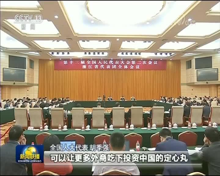 [视频]【在习近平新时代中国特色社会主义思想指引下——代表委员议国是】
