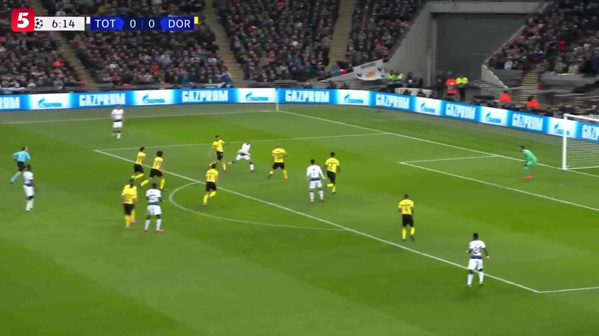 [视频]欧冠:热刺3-0大胜多特蒙德 孙兴慜破门铁卫传射