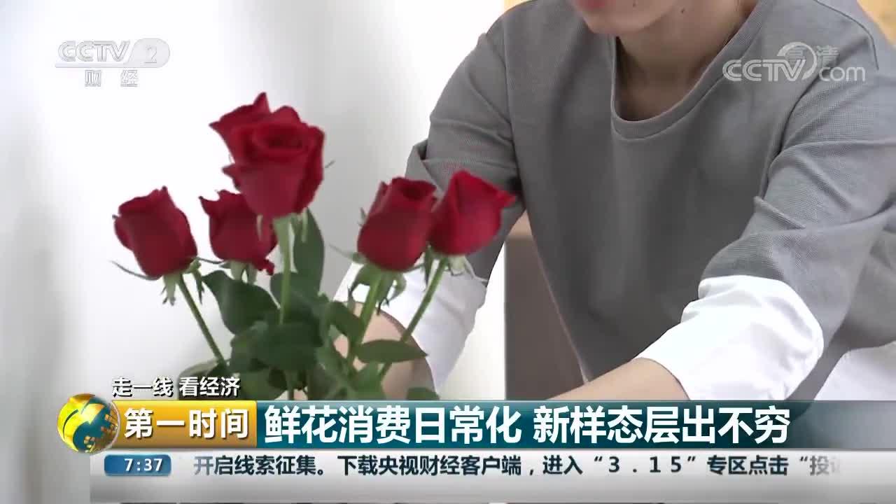 [视频]鲜花消费日常化 新样态层出不穷