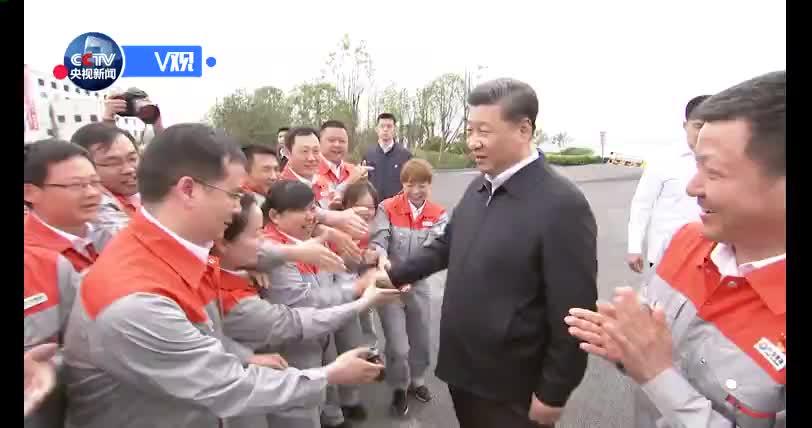 [视频]习近平:长江经济带要科学有序发展