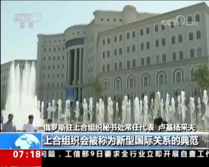 """[视频]""""上海精神""""指引上合发展 也是上合组织初心所在"""