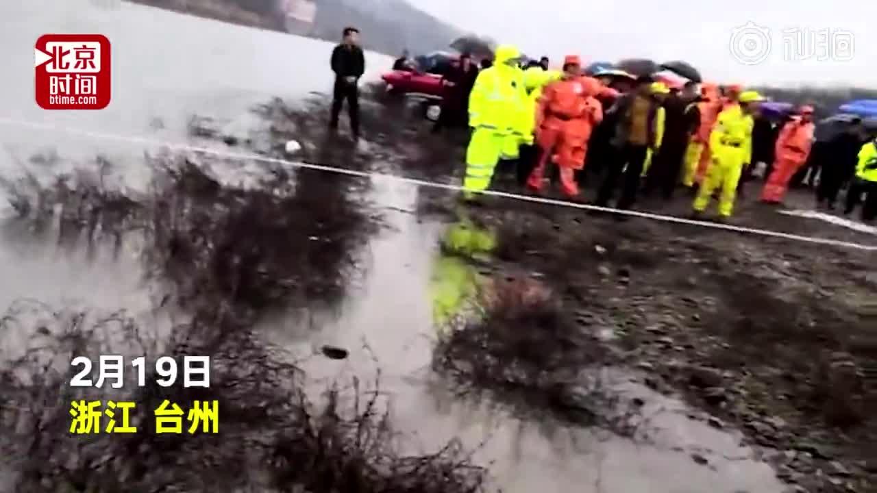[视频]为试越野车功能 男子驾车下河被水吞没 妻女被冲走