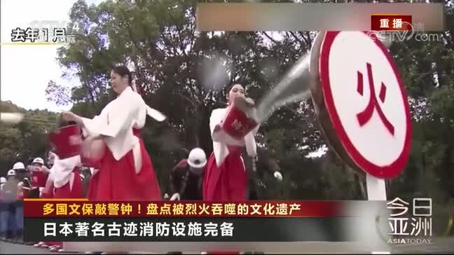 [视频]多国文保敲警钟!盘点被烈火吞噬的文化遗产