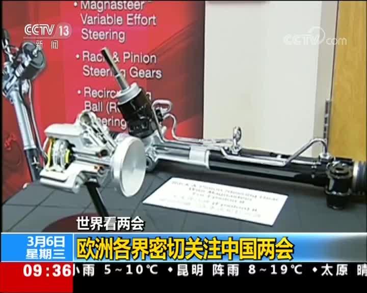 [视频]世界看两会 欧洲各界密切关注中国两会