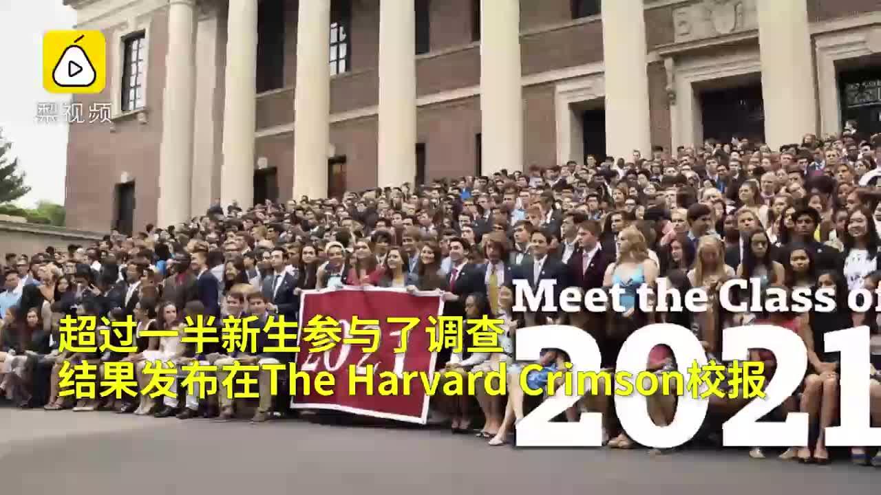 [视频]哈佛发布新生数据:近五成是富二代