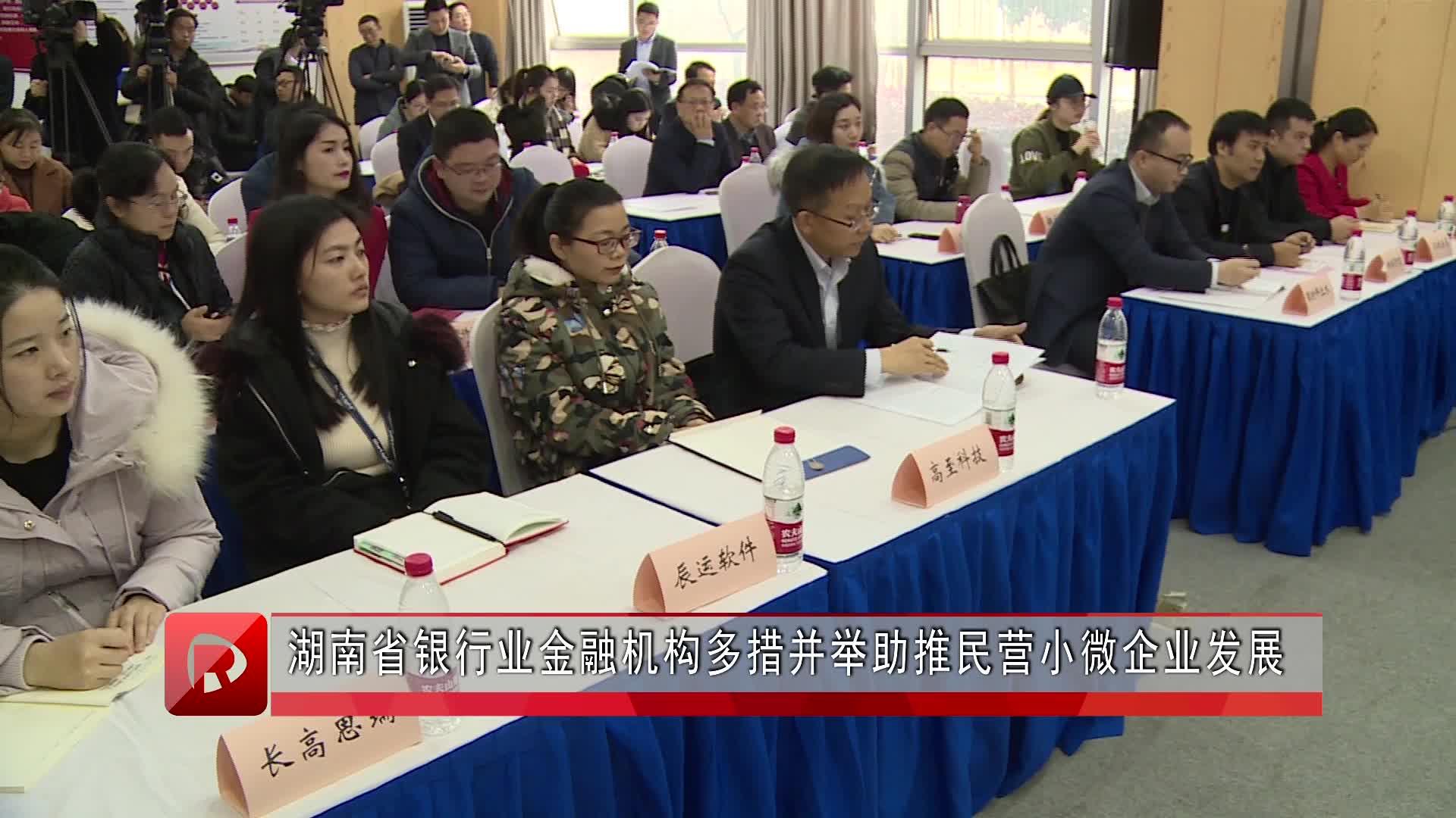 湖南省银行业多措并举助推小微企业发展