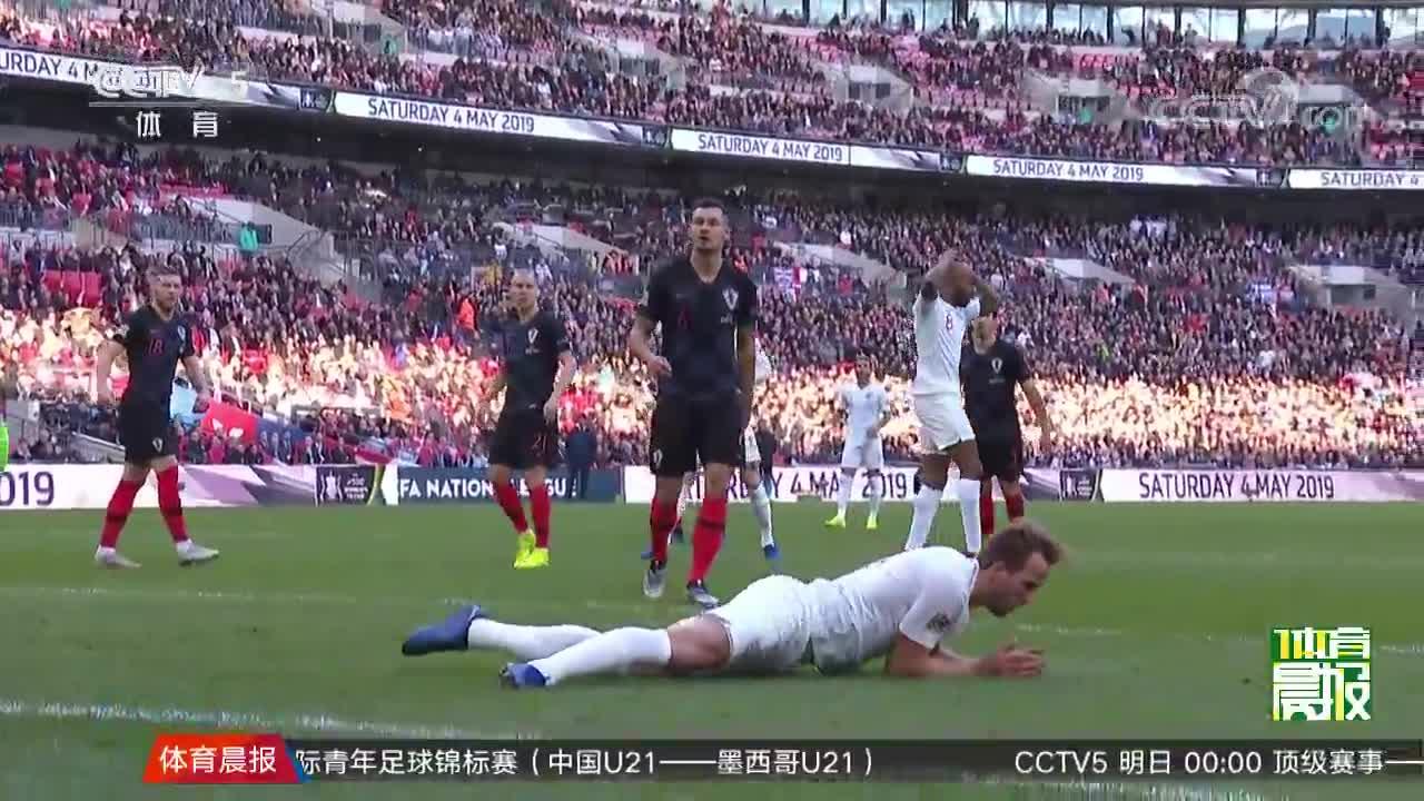 [视频]欧国联:英格兰2-1逆转克罗地亚 晋级4强