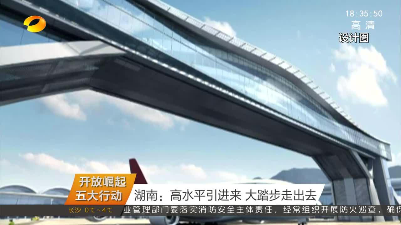 (开放崛起五大行动)湖南:高水平引进来 大踏步走出去