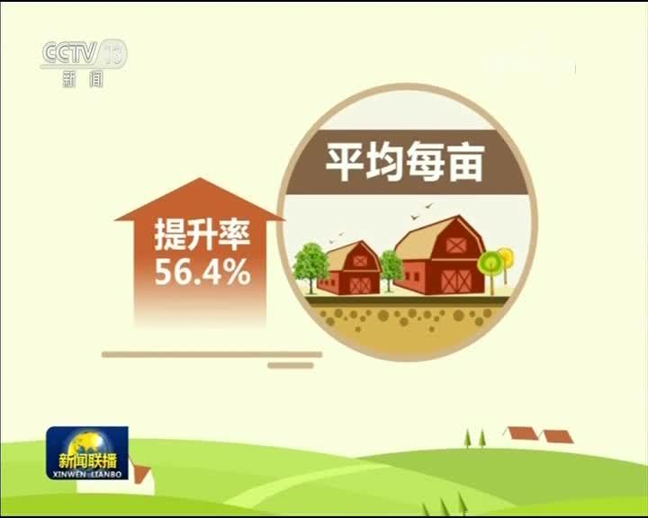 [视频]今年我国将新增8000多万亩高标准农田