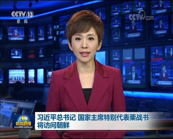 [视频]习近平总书记 国家主席特别代表栗战书将访问朝鲜