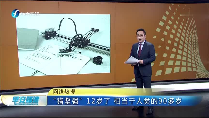 """[视频]网络热搜""""写字机器人"""":可以模仿各种笔迹抄写文字"""