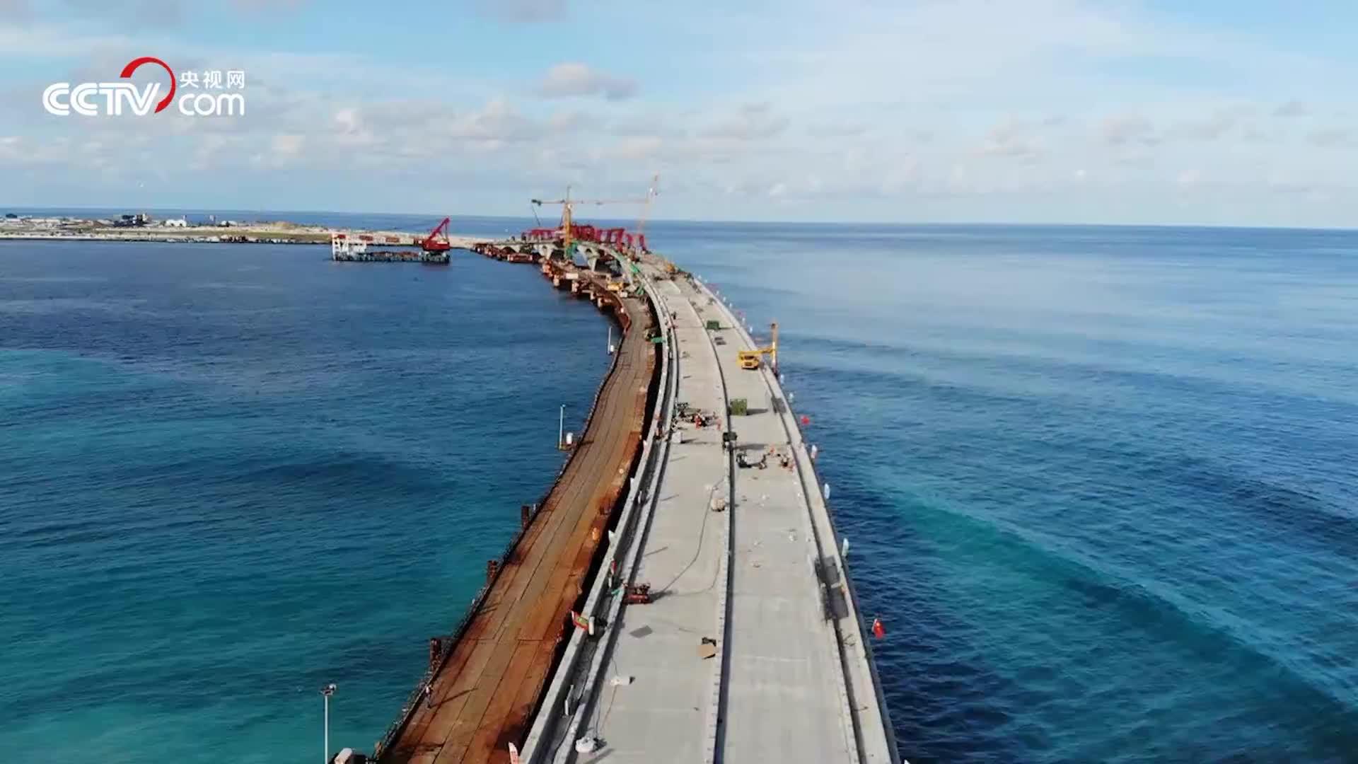 [视频]看中国建桥实力!30秒延时摄影