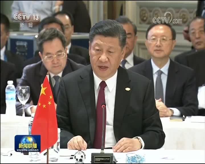 [视频]习近平出席金砖国家领导人非正式会晤
