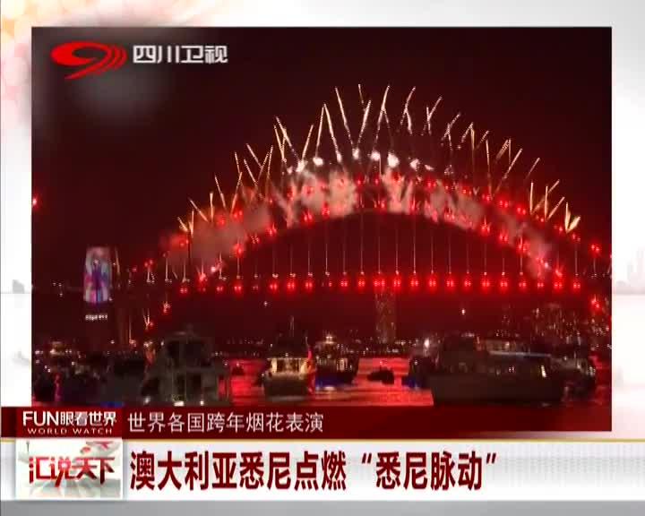 [视频]世界各国跨年烟花表演