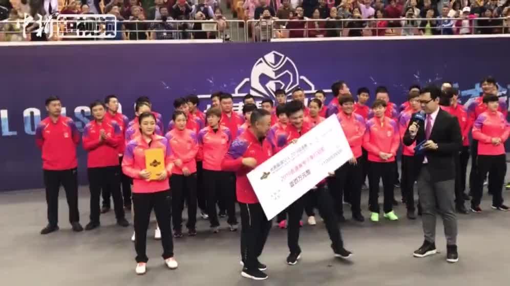 [视频]世乒赛选拔赛深圳落幕 刘国梁:国乒不会让大家失望