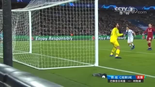 [视频]欧冠:巴黎2-1击败利物浦握晋级主动权