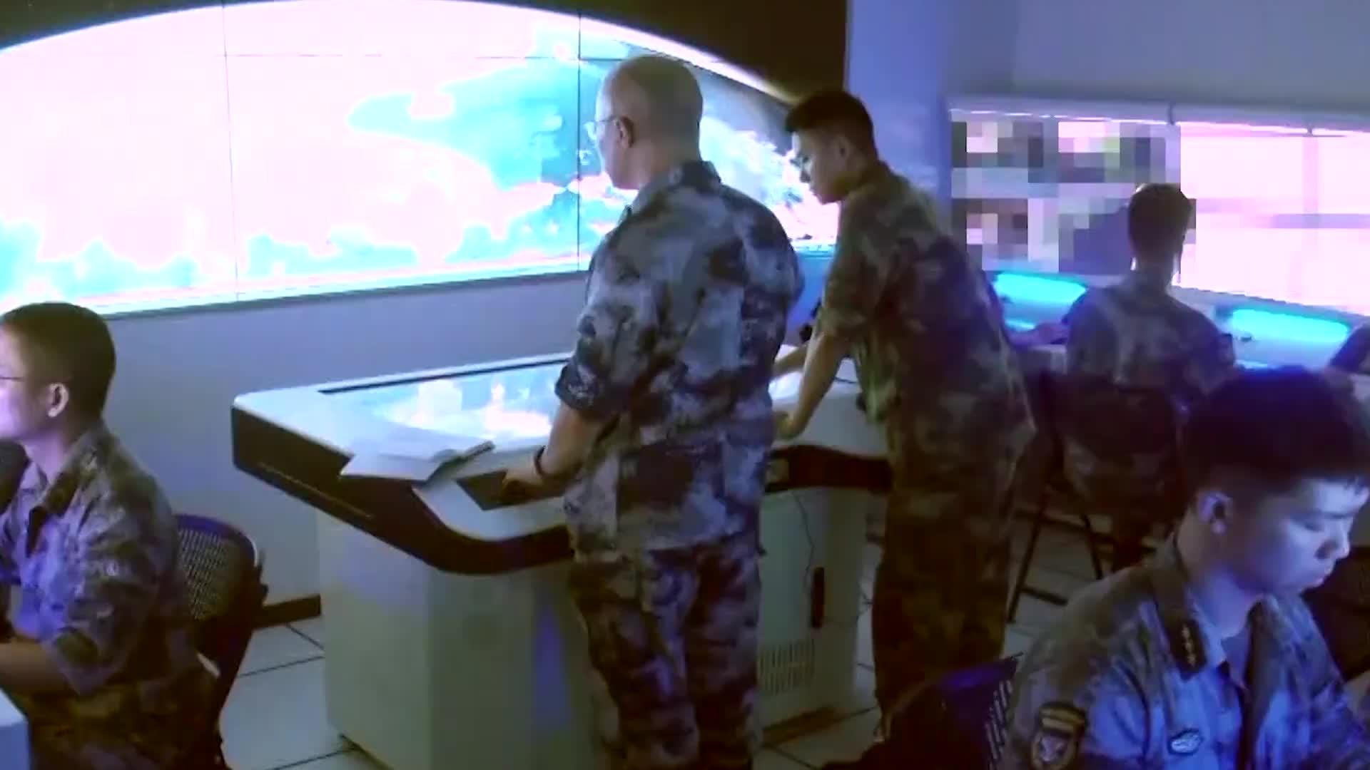 [视频]解放军首家战区联合作战实验室曝光