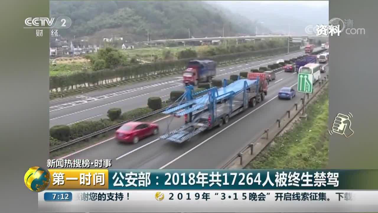 [视频]公安部通报2018年全国十大事故多发路段