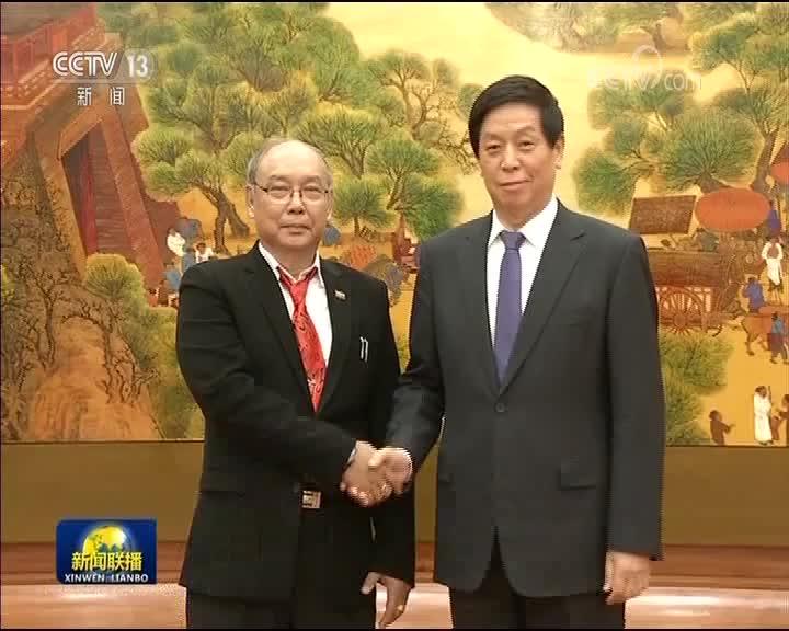 [视频]栗战书与缅甸联邦议会议长兼民族院议长举行会谈