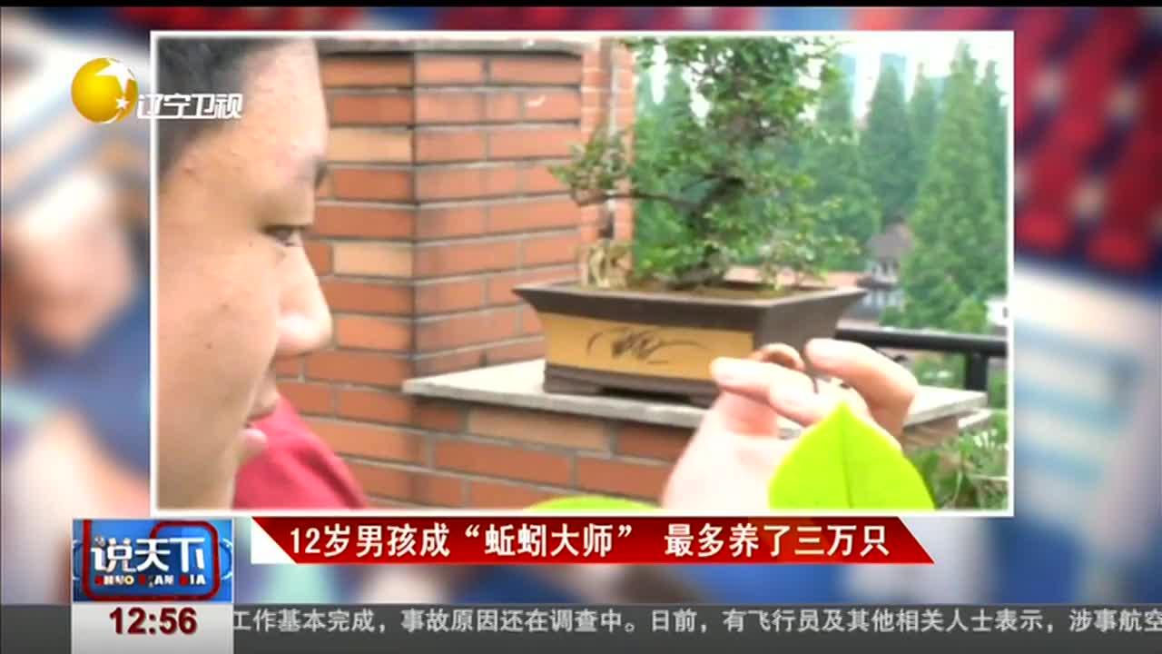 """[视频]12岁男孩成""""蚯蚓大师"""" 最多养了三万只"""