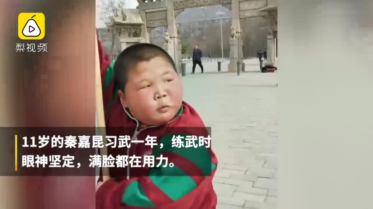 [视频]男孩练武变表情包,鼻孔都在用力