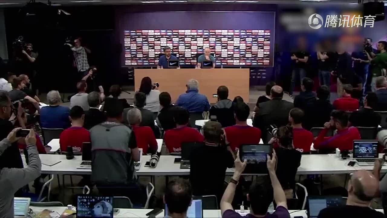 [视频]伊涅斯塔宣布今夏离开巴萨 泪别22年红蓝生涯