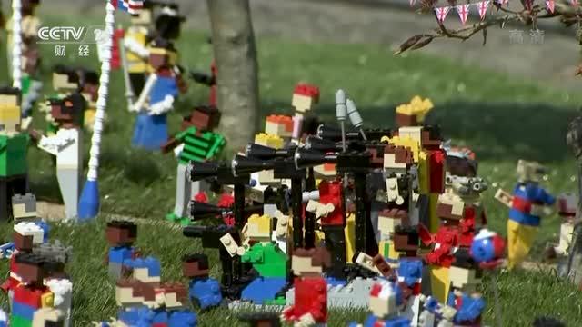 [视频]英国温莎乐高乐园用积木预演王室婚礼