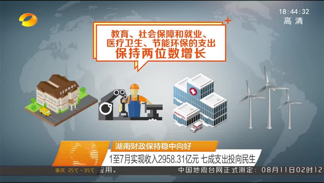 2018年08月11日湖南新闻联播