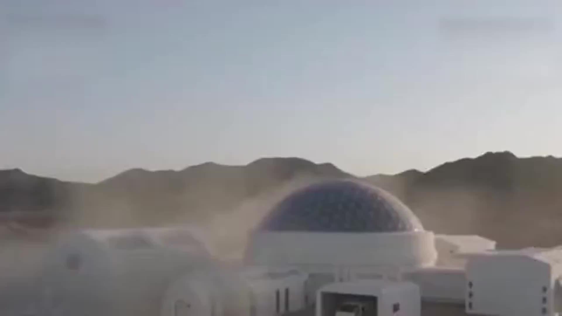 [视频]在地球上过外星生活:中国火星模拟生存基地公开亮相!