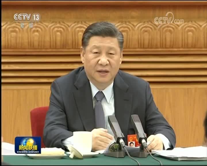 [视频]习近平参加甘肃代表团审议