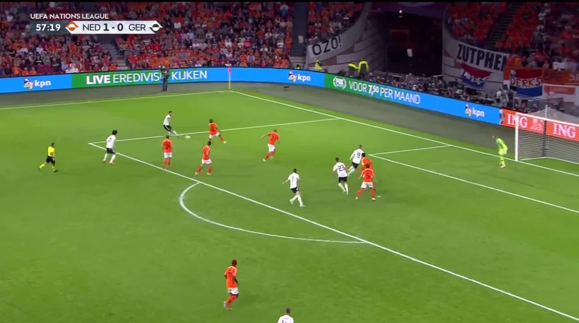 [视频]欧国联:荷兰3-0击败德国 范迪克德佩分别建功